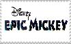 Epic Mickey logo Stamp by Mega-Shonen-One-64