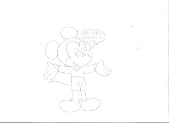 Mickey announces everybody to Oswald Week by Mega-Shonen-One-64