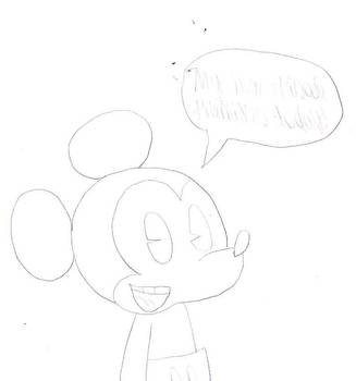 Mickey announces the new episode by Mega-Shonen-One-64