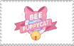 Bee and Puppycat logo stamp by Mega-Shonen-One-64