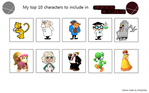 Top 10 Characters that I want on CoI - part 10 by MarcosPower1996