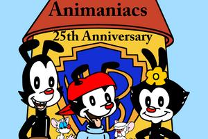 Animaniacs - 25th Anniversary by Mega-Shonen-One-64