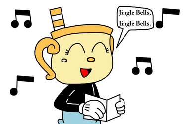 Ms. Chalice singing Jingle Bells by MarcosPower1996