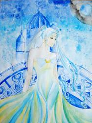 Queen Serenity by hanakoofthejungle