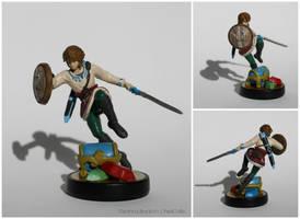 Skyloft Link Custom Amiibo Figure by PixelCollie