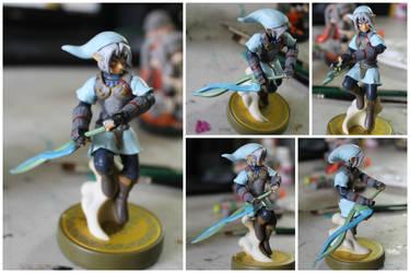 Custom Legend Of Zelda Amiibo By Pixelcollie On Deviantart
