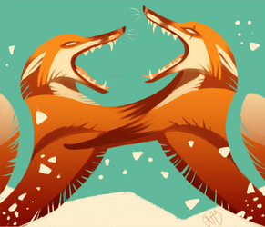Foxfight by Canvascope