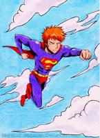 Ichigo's Superman by gryce-allergies