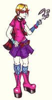 punky girl by flaming0swizle
