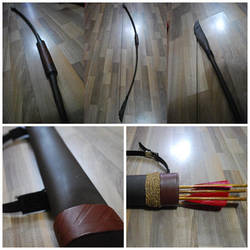 PROP: Bard the Bowman Bow and Arrow by 2akakage2