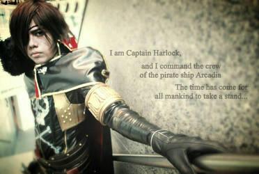 Captain Harlock_01 by 2akakage2