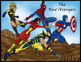 New Avengers Team by jmaturino