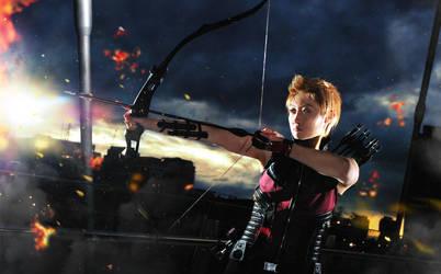 AVENGERS: Agent Clint Barton by Blackcrane56