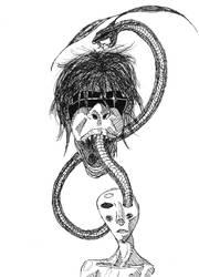 Noh Serpent by TheNexus18