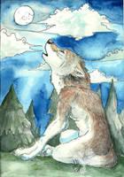 Werewolf Moon by ariadnedalua