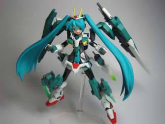 Hatsune Miku 00 Seven SwordsDIG by WingZeroCos