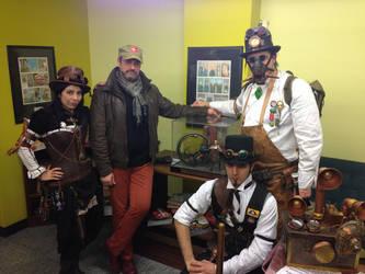 Steampunk Italia allo STEAMBOAT by Steampunk-Italia