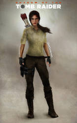 Shadow Of The Tomb Raider ''Casual style concept'' by vinycalheiros
