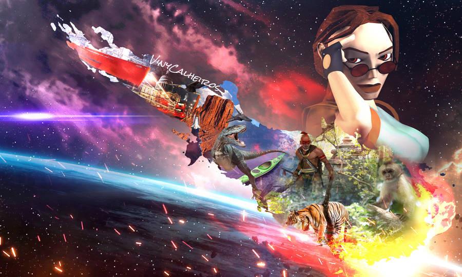 20th Years of Tomb Raider III - Tease ART by vinycalheiros