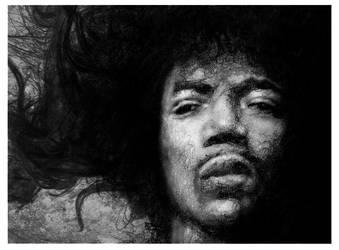 Hendrix by oilbigbrozer