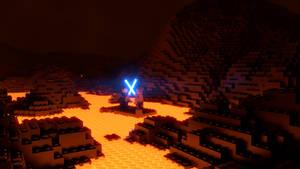 LEGO Obi-Wan Kenobi Vs. Anakin Skywalker (4K) by Dulana57