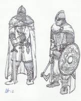 Vendel Warriors by Illvetti