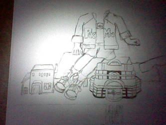 giantess Astra (WIP) by CatriamFlockentanz