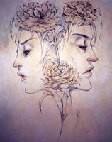 Face Flowers by Android-Bones