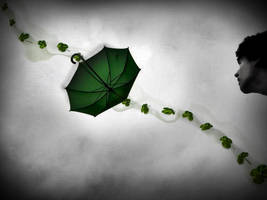 Lucky umbrella by SolitudeMistress