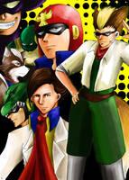 F-Zero Characters by s-azma