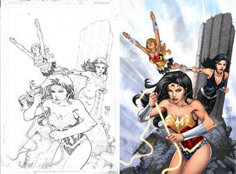 Wonder Women by manapul