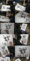 Wolverine Art Process by manapul