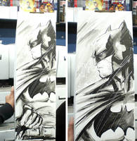 Batman long box by manapul