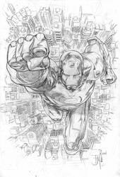 Iron Man by manapul