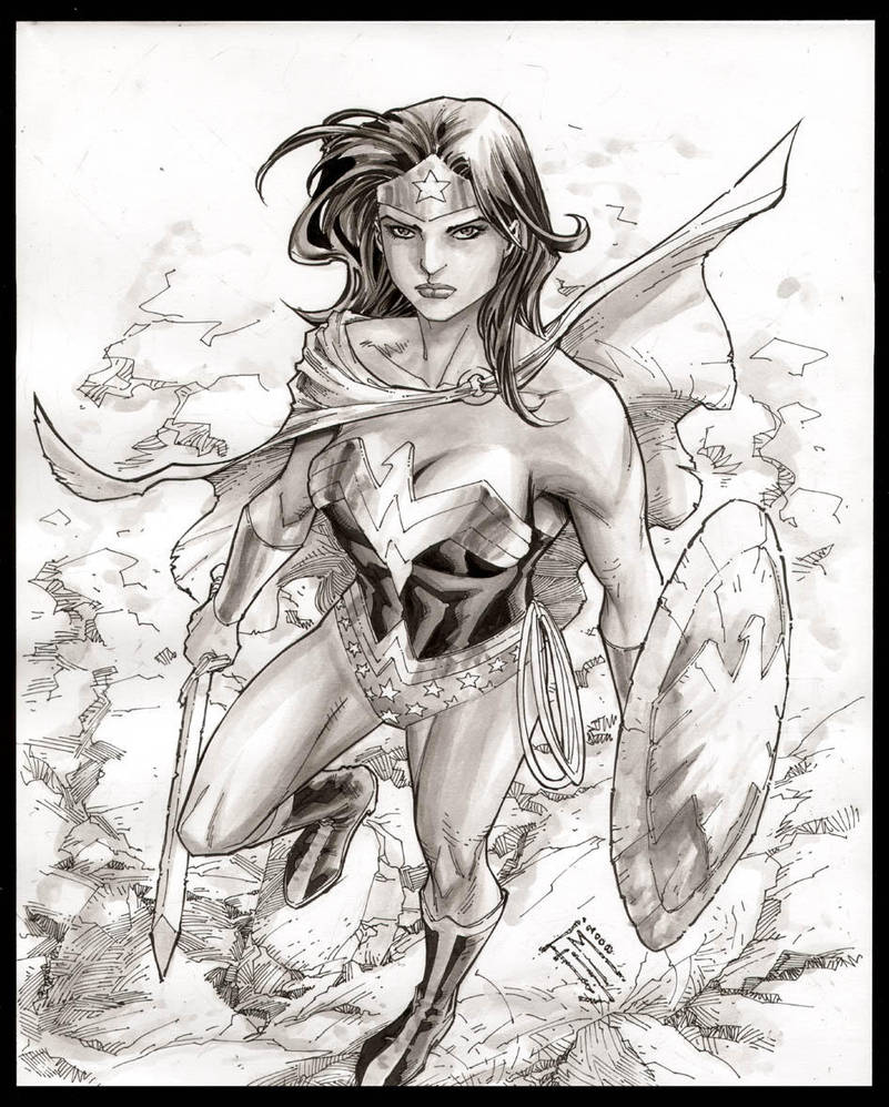Wonder Woman by manapul