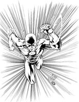 Livesay Inks Flash2 by manapul