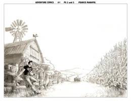 Adventure Comics 1 pg 2n3 by manapul