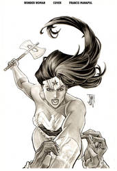Wonder Woman 32 cover by manapul