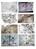 Even More Con Sketches by manapul