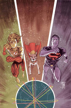 Superboy 5 cover process 4 by manapul