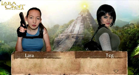 Lara Croft and Teg Alexander by KateRSykes