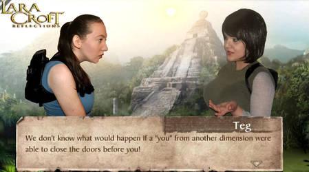 Lara Croft and Teg Alexander 2 by KateRSykes