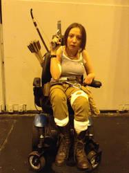 Reboot Lara Croft - Birmingham Comic Con 2016 by KateRSykes