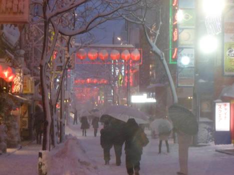 Snowy Yokohama 2 by noside124