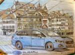 Subaru Levorg in Basel by Sandro98ch
