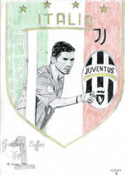 Gianluigi Buffon by Sandro98ch