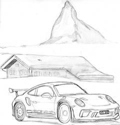 Porsche 911 Matterhorn by Sandro98ch