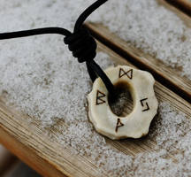 Pendant with Runes by bachus99