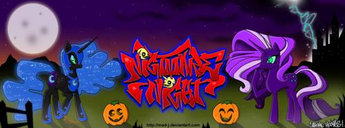Nightmare Night Throwdown by MADMATJOHNSON
