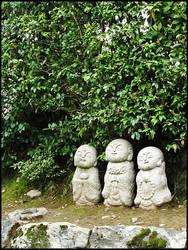 JP06 Monks by omuraisu